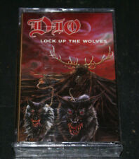 DIO Ronnie James Dio Lock Up the Wolves  NEWFACTORY  SEALED CASSETTE TAPE 1990