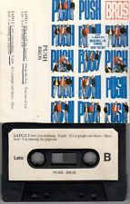 PUSH - BROS - MC 1988 - music cassette audio tape RARA