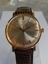 Omega Automatic Watch - Ω 552 24 Jewels - 14K Solid Gold Case