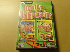 2-DISC PC GAME / TOTALLY ROLLER COASTER TYCOON + LOOPY LANDSCAPES (CD-ROM)