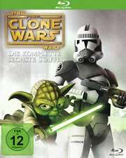 Star Wars the clone Wars- season 6 sixth, animated Blu-Ray Final lost Missions