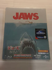 JAWS BLU RAY STEELBOOK JAPAN OOP VHTF RARE GRAIL