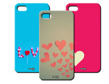 IPM CUSTODIA COVER CASE CUORI AMORE LOVE HEART PER iPHONE 4 S 4S