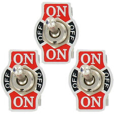 3X Heavy Duty 20A 125V SPDT 3 Pin (ON)-OFF-(ON) Momentary Toggle Switch Sales