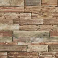 Shabby Sheek Fence Panel Wood Brown 7319-11