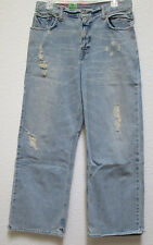 NWT Abercrombie & Fitch Distressed Jeans Youth 16 or   mens 32x29 ret $59.50