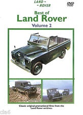 Best of Land Rover Vol 2 DVD - Series I IIA and III films from 1957-74 * NEW
