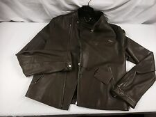 Beautiful Authentic Louis Vuitton Perfecto Leather Spring Jacket Coat 52 L 4200$