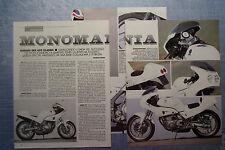 MOTOSPRINT990-PROVA / TEST-1990- YAMAHA SRX 600 CLASSIC - 3 fogli