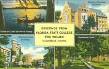 Tallahassee, FL Greetings from Florida State College for Women