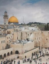 """+""""World-Famous Dome of The Rock""""  in Jerusalem, Israel... ~Post Card~ (B-309)"""