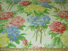 "~11 YDS~BRUNSCHWIG&FILS~FLORAL ""SAVILL""~COTTON UPHOLSTERY FABRIC FOR LESS~UK~"