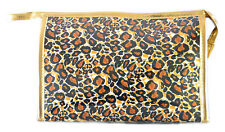 Pin Up LEOPARD LeoVintage Kosmetiktasche Rockabilly 50s Kuturbeutel Golden