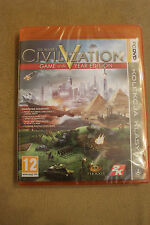 Civilization V GOTY Edition PC DVD PL/ENG STEAM Polish New Sealed Polska