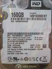 Western Digital 160 GB WD1600BEKT-00A25T0 DCM: HHCVJHB | 22JAN2016 | hard disk