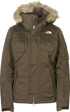 The North Face Baker Delux Ladies Snowboard Ski Jacket Coat Womens Small Brown