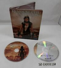 Resident Evil EXTINCTION (Blu-ray Disc 2008) SteelBook LTD ED w /Bonus DVD Alice