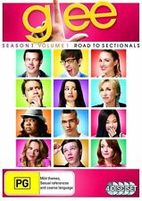 Glee Season 1 Volume 1 Road to Sectionals DVD 4 Disc Set PG Used