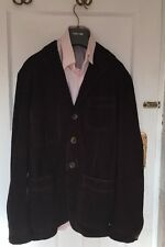 Tom Ford Suede Brown Blazer/Jacket IT 48, UK 38