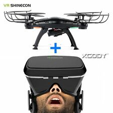 Brand New VR Shinecon 3D Video Glasses Headset Virtual Reality+Quadcopter Drone