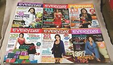 Lot of 6 EVERYDAY WITH RACHAEL RAY Magazines 2008 2009 Every Day VGC