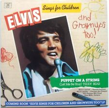"ELVIS PRESLEY - Teddy Bear b/w Puppet On A String 7"" (Canadian Green Vinyl)"