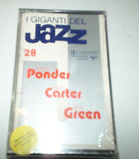 Giants of Jazz 28 Ponder, Carter, Green -SEALED - Cassette