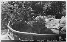 "Interstate Park, ""Dept 60ft""    Taylors Falls   Minnesota      Real Photo"