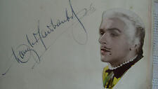 Rare Douglas Fairbanks Jnr, film star autograph &  photograph-London 1934