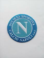 Serie A Football Club Patch Napoli soccor Embroidered badge logo iron On italy