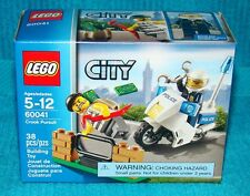 New Lego City Crook Pursuit 60041 Factory Sealed