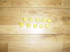 Cubierta del Barco Accesorios 10 Amarillo Cordón Soga Bolas De Nylon Bungee shockcord Tapones