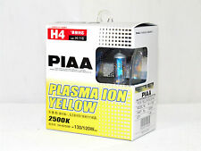Piaa 2500K Plasma Ion Yellow H4/HB2 Halogen Headlight High/Low Beam Bulbs A