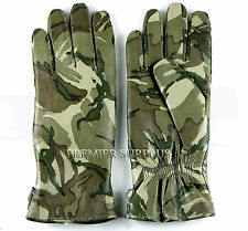 Genuine British Army MTP Cold Weather MK 2 Leather Combat Gloves, NEW, Size 7