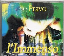 PATTY PRAVO CD single sigillato L'IMMENSO nuovo SEALED  2002 SANREMO 2 tracce