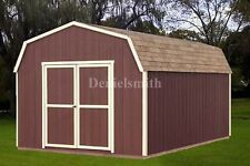 12x20 Barn Storage Shed Plans, Buy It Now Get It Fast!