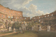 À Interior view of the Colosseum, rome John warwick smith Italie B a3 02683
