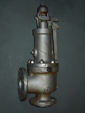 """3 x 4"""" (150# FLANGED) #1905L/P1-T CONSOLIDATED SAFETY VALVE, SET AT 20 PSI"""