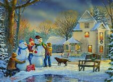 NEW! Eurographics Snow Creations by Sam Timm 1000 piece christmas jigsaw puzzle