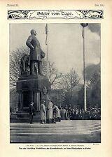 Die Enthüllung des Roon- Denkmals in Berlin Der Kaiser Bildhauer Magnussen 1904