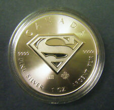 2016 Canada $5 1oz Superman S-Shield Silver Bullion coin DC Comics series