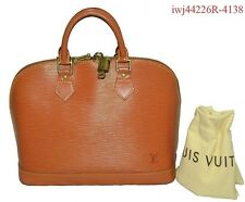 Authentic Louis Vuitton Epi Kenya Brown Alma w/sleeper iwj4226R-4138