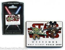 WDW Star Wars Weekends 2009 Logo LE 7000