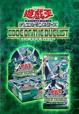 Japanese Yugioh, Code of the Duelist Booster Box Sealed COTD