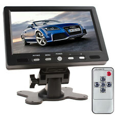 7 Inch HD 800x480 Color TFT LCD Screen 2 Input HDMI + VGA Car Rearview Monitor