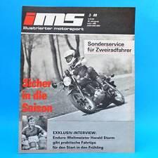DDR Zeitschrift IMS 3/1988 Illustrierter Motorsport ETZ 250 Lancia Bulgarien