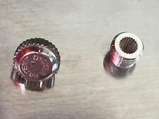 Rolex Oyster 5.4 mm bubble back vintage crown and tube new old stock