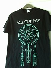 FALL OUT BOY NEW DREAM CATCHER COTTON T SHIRT MEDIUM CHEST 36 INCHES BLACK