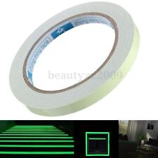 10m Self-adhesive Luminous Tape Strip Glow In The Dark Green Home Office Decor