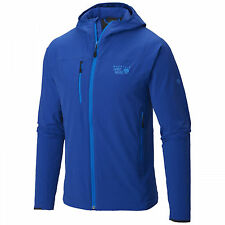 MOUNTAIN HARDWEAR MENS XL SUPER CHCKSTONE HOODED CLIMBING SOFTSHELL JACKET